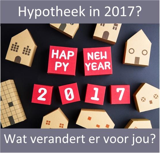 Regels hypotheek 2017