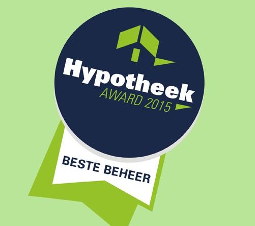 Hypotheek_award_2105, onafhankelijk hypotheekadviseur RegioBank Groningen