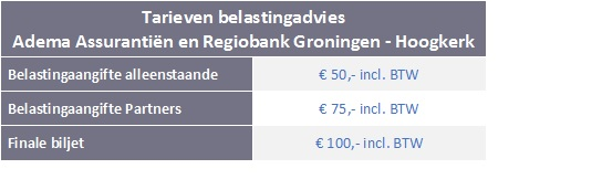 Belastingadviseur Groningen