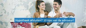Tips hypotheek afsluiten