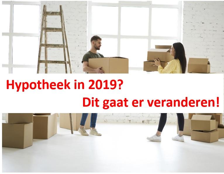 Hypotheekregels 2019
