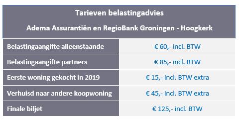 Belastingaangifte 2019